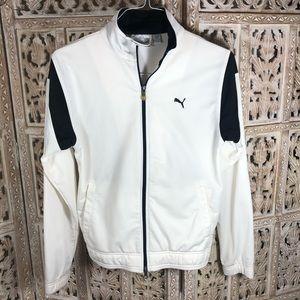 Puma zip up track jacket M